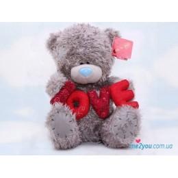"Мишка Тедди с объмным ""LOVE"" (G01W1713)"