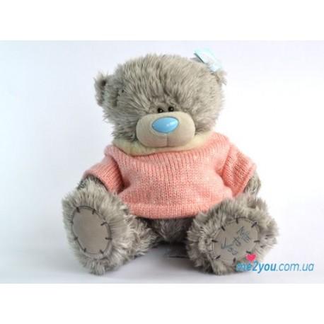 Мишка Тедди в розовом свитере (G01W1994)