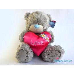 Мишка Тедди с сердцем Love (G01W2097)