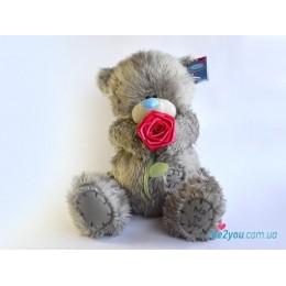 Мишка Тедди с розой (G01W2098)