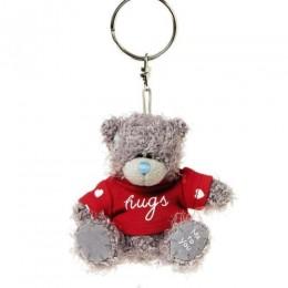 Мишка Тедди Мишка-брелок в красной кофточке Hugs 7,5 см (G01W3805)