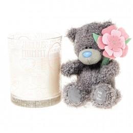 Подарочный набор Me to You Для мамочки Свечка и Мишка 7.5 см
