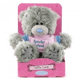 Мишка MTY в розовой футболке Special Friend 13 см (G01W2895)
