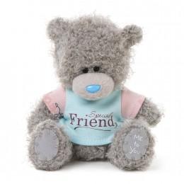 Мишка Тедди Me to you в футболке Special Friend 13 см (G01W3465)