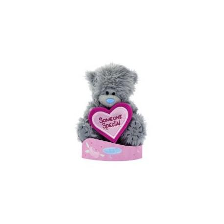 Мишка Ми ту ю с розовым сердцем Someone Special 13 см (G01W2245)