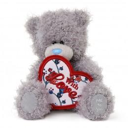 Мишка Митую с сердцем With Love 13 см (G01W3406)