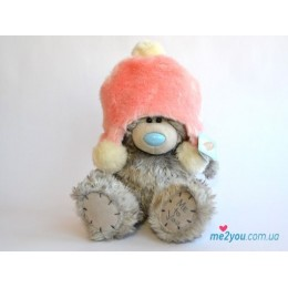 Мишка Тедди в розовой шапочке 25 см (G01W1997)