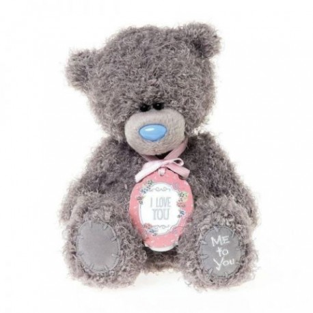 Мишка Teddy MTY с табличкой I love you 13 cм (G01W3535)