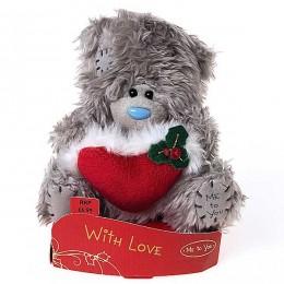 Мишка Me to you с красным сердцем 13 см (G01W1926)