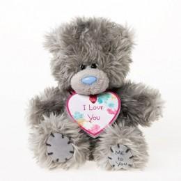Мишка Teddy с кулоном I Love You 13 см (G01W3010)