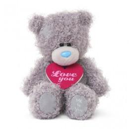 Мишка MTY с кулоном Love You 13 см (G01W3492)