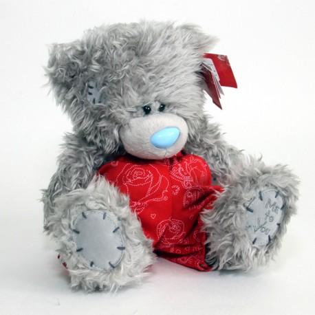 Мишка Teddy в красных боксёрских шортах I Love You 20 см (G01W2873)