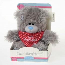 Мишка Тедди с ковбойским платком Cute Boyfriend 13 см (G01W2390)