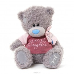 Мишка Teddy в розовой футболке Lovely Daughter 20 см (G01W3290)
