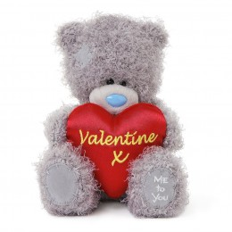 Мишка Teddy с красным сердцем Valentine X 18 см (G01W3513)
