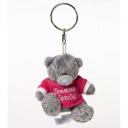 Брелок-игрушка Мишка Тедди Me to you в красной футболке Someone special 7,5 см (G01W3005)