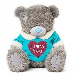 Мишка MTY в футболке I love you 61 см (G01W3776)