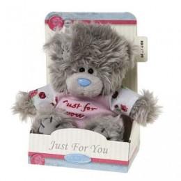 Мишка MTY в розовой рубашке Just for You 13 см (G01W2378)