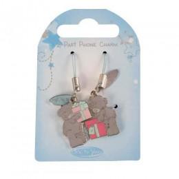 Двойной брелок для телефона Мишки Митую с подарками (G01Q0590)