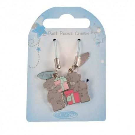 Брелок для моб. тел. двойной Мишка Митую с подарками (G01Q0590)
