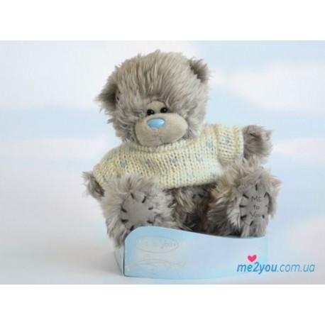 Мишка Тедди в свитере 12 см (G01W2009)