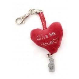 Брелок-подвеска сердце и Мишка MTY Give Me Your Heart (GYK0093)