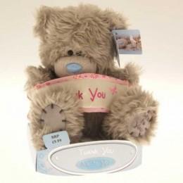 Мишка Митую с табличкой THANK YOU 15 см (G01W0264)