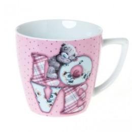 Розовая чашка Мишка Ми ту ю  Love (G91M0020)