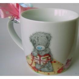 Подарочная кружка Мишка Митую с сердечком (G01M0200)