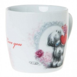 Кружка Мишка Тедди с сердцем Love you (G91F0016)