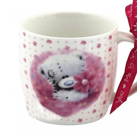 Чашка Me to you Тедди держит цветочек (G77Q5147)