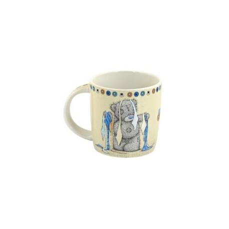 Подарочная кружка Мишка Тедди с галстуками Доброе утро! (0665.405/5)