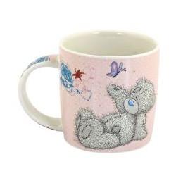 Милая чашка с Мишкой Ми ту ю с бабочкой для самой лучшей подруги (0665.404/10)
