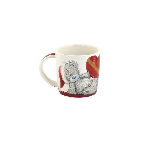 Чашка Мишка Teddy Санта с сердцем Тому, кто мне очень дорог (0665.406/3)