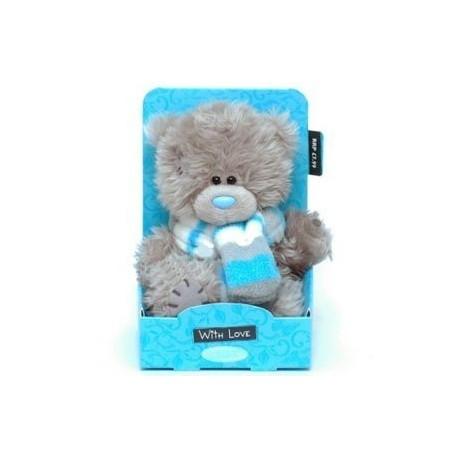 Мишка Теддик с шарфиком 13 см (G01W3031)