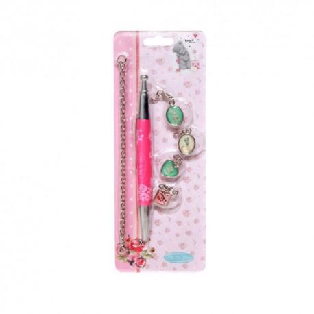 Ручка шариковая + браслет с украшениями (288684)
