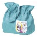 Синяя пляжная сумка Тедди с очками (G91Q0085)