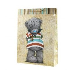 Большой подарочный пакет Мишка-морячок