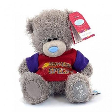 Мишка Me to you в красной футболке с надписью Someone special 18 см (G01W3512)