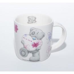 Чашка с Мишкой Тедди с надписью Тому, кто мне очень дорог (0665.391)